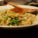 海老と水菜のあっさりチャーハン