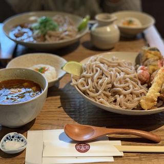 かしわキーマつけ麺(京都四条くをん)