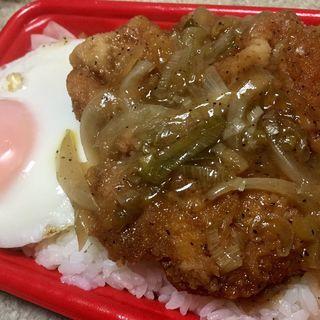 ねぎ塩鶏かつ重(セイコーマート 山鼻9条店)
