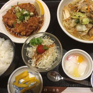 選べる麺&皿のセット(一品香 雑餉隈店 )