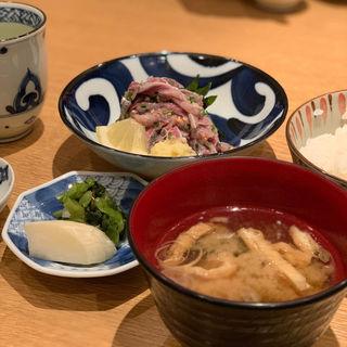 刺身定食(新宿割烹 中嶋 (しんじゅくかっぽう なかじま))