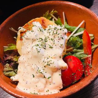 パルミジャーノで焼いたポテトサラダ(オーラ (HoLa!))