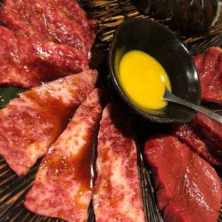 焼肉、海老(焼肉トラジ 玉川高島屋S・C店)