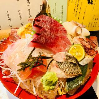 地魚の刺身盛合せ(炭魚酒菜 わなか (スミサカナサカナワナカ))