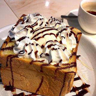 厚切りもちもちハニートースト(MMC ORGANIC CAFE 仙台空港国際線店 (エムエムシー・オーガニック・カフェ))