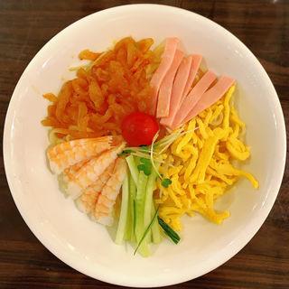 五目冷麺(梅蘭 アコルデ代々木上原店)