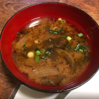 お味噌汁(欧風料理 もん )