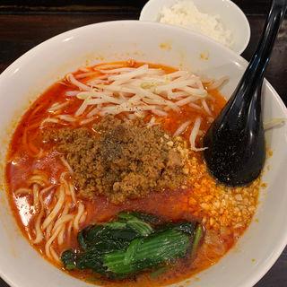 担々麺と承知ライス(ほうきぼし+ 神田店 )
