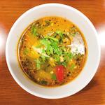 魚の辛いスープカレー