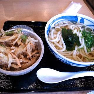 かき揚げ小丼定食(う道 (ウドウ))
