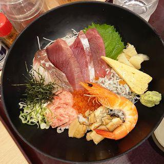 源ちゃん丼(築地食堂 源ちゃん 川崎アゼリア店)