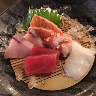 刺身定食(西中島海岸 海の家 )