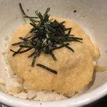 麦とろご飯(赤星)