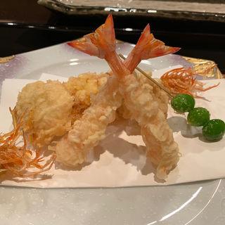天ぷら盛り合わせ(なだ万賓館 新宿店 (なだまんひんかん))