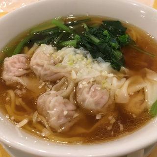 ワンタン麺(徳記)