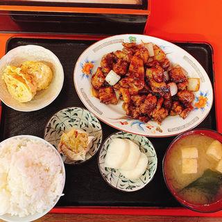 鶏味噌炒め定食(徳記 )