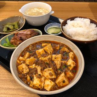 四川麻婆豆腐定食(中国郷菜 壺厨天)