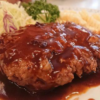 ハンバーグ(キッチンよしむら )