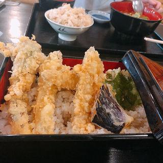 鰯天丼(大漁亭 )