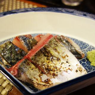 炙り鯖刺し(居酒屋ばか貝)