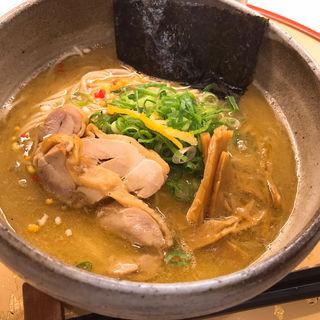 濃厚鶏塩そば(麺屋 音)