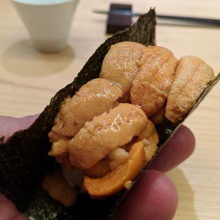 雲丹(鮨よしかわ)