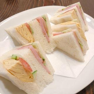ミックスサンドイッチ(珈専舎たんぽぽ (こうせんしゃ たんぽぽ))