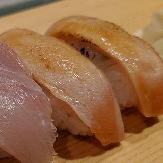 炙りサーモン(築地すし好 粋 アトレ川崎店)