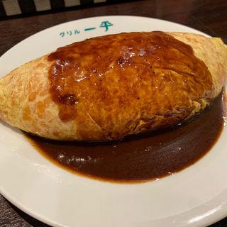 オムライス(グリル一平 三宮店)
