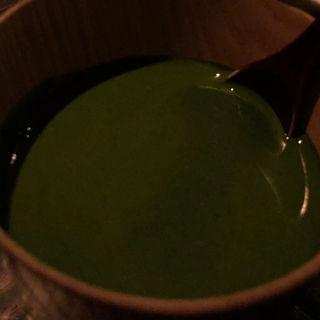 抹茶のブラマンジェ(HIGASHIYAMA Tokyo)