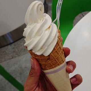 北海道ソフトクリーム(カルビープラス 新千歳空港店)
