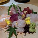 伊勢鮮魚のお刺身五点盛り