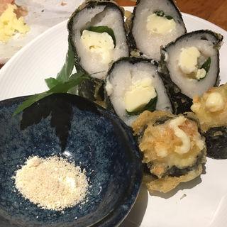 白身魚のすり身とチーズの磯辺揚げ(あじとよ屋 (【旧店名】一休))