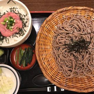 ねぎとろ丼定食(そじ坊 新宿アイランド店 (そじぼう))