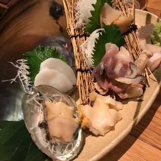 貝刺身(魚真 新宿店 )