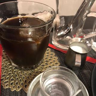 コース 食後のアイスコーヒー(レザン デリカテッセン&カフェ)