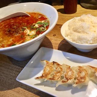 一風堂からか麺+ランチAセット(一風堂 札幌狸小路店)