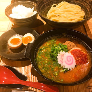 元祖明太煮込みつけ麺セット