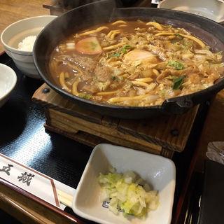 味噌煮込みうどん定食(五城 (ごじょう))