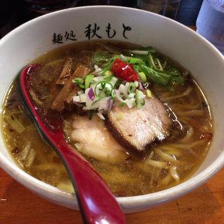 醤油ラーメン(麺処 秋もと)