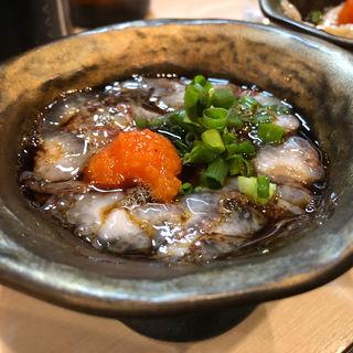 ナマコポン酢(金の串)