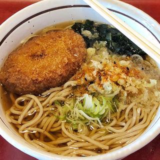たまごかけごはん定食麺1玉(山田うどん 小平仲町店 )