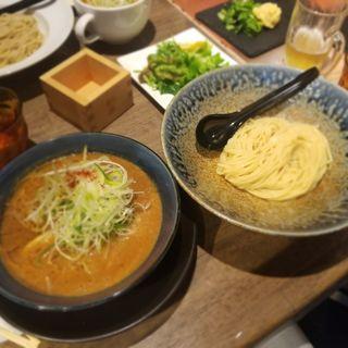 エビ味噌つけ麺(みつか坊主 醸 (カモシ))