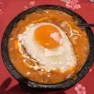 石焼きキーマカレー(リトル ヒマラヤ)