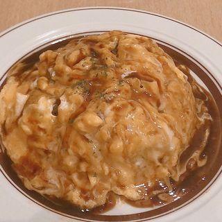 ふわふわ卵のオムライス(リベル (洋食堂リベル))