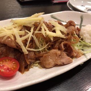 豚の生姜焼き(世界の山ちゃん 新大久保店 (せかいのやまちゃん))