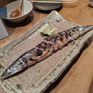 サンマ塩焼き(居酒屋 純ちゃん )