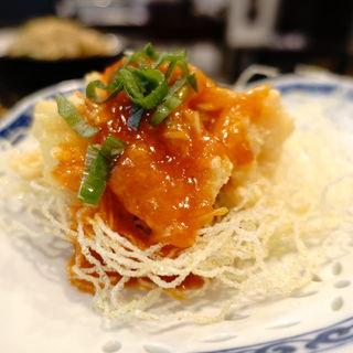 エビチリ(四川麻辣麺 雪家)