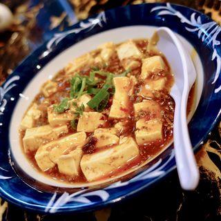 麻婆豆腐(四川麻辣麺 雪家)