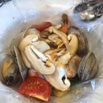 海老と松茸のカルタファタ包み